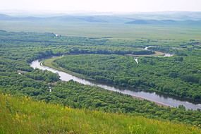 亚洲第一湿地根河河湾