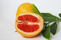 新鲜红心柚