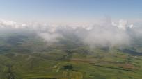 大气航拍张北草原