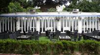 别墅花园餐厅