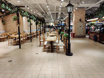 商场美食中心