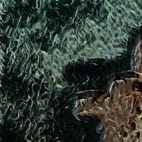 抽象海边客厅装饰油画