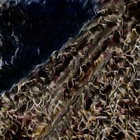 抽象油画装饰背景墙