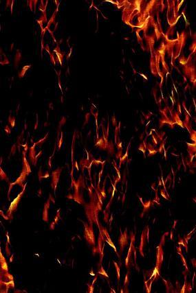 火光冲天时尚手机壁纸