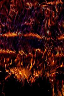 炫酷震撼火焰海报