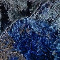 梦幻蓝色艺术装饰画抽象画