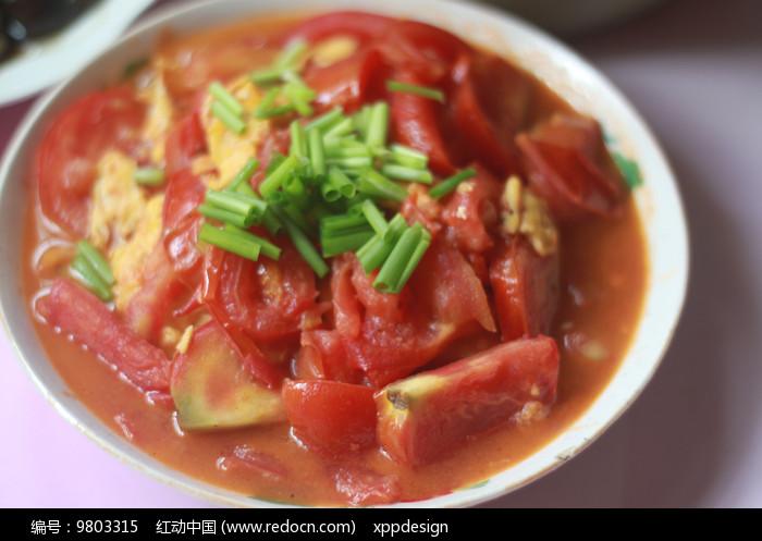 农家菜西红柿炒鸡蛋图片