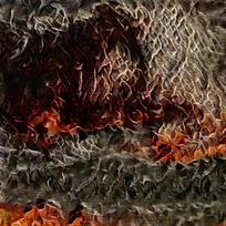 欧式艺术抽象油画装饰画