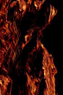 奔腾火焰手机背景图片
