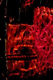 炫彩抽象火焰背景图片
