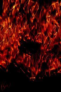 炽热火焰手机背景图片