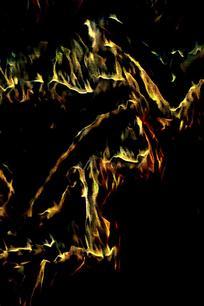 抽象火焰造型背景图片