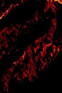 创意篝火手机背景图片