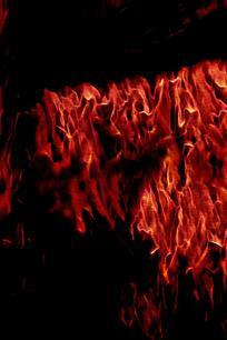 创意燃烧手机背景图片