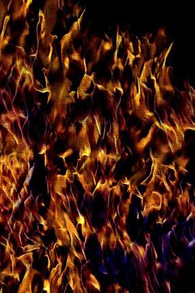 奢华金色火焰背景图片