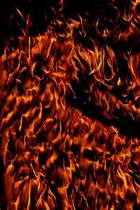 爆裂火焰手机背景图片