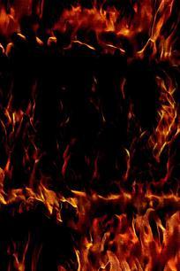 火焰特写手机背景图片