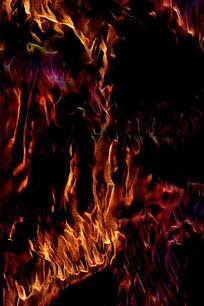 炫酷烈火手机背景图片