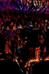 炫彩火光手机背景图片