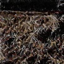 炫彩火焰抽象装修壁画