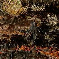抽象油画火焰底纹背景