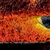 创意装饰火焰油画背景