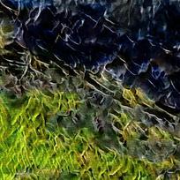 简约抽象火焰油画背景