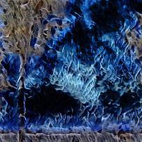 炫酷蓝色火焰背景