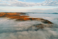山岭云雾风景