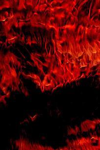 奔流火海创意火焰底纹
