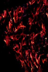 创意燃烧烈火背景图案