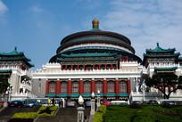 宏伟的重庆市人民大礼堂