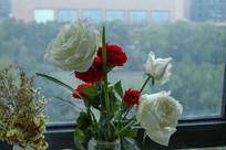 室内的鲜花