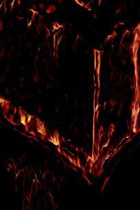 超炫火焰艺术背景