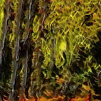 抽象丛林火焰底纹背景
