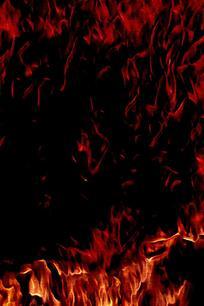 抽象沸腾火焰底纹背景