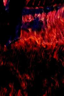 抽象红色火焰背景