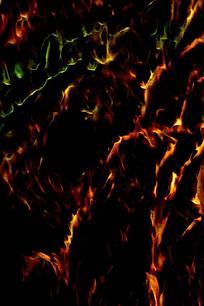创意火焰条形底纹背景