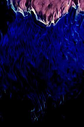 大气深蓝火焰底纹背景
