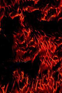 翻腾火焰背景图案