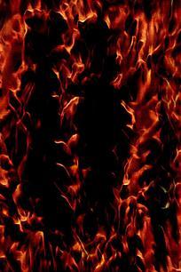 沸腾火焰底纹背景