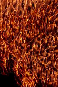 燃烧火焰底纹背景