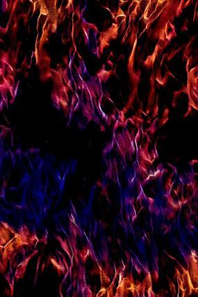时尚炫彩火焰背景