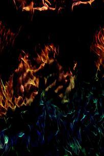 时尚梦幻火焰背景