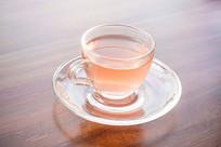 一杯好看的花茶