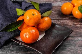 色彩鲜艳的橘子