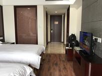 宾馆房间全景