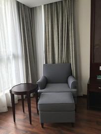宾馆房间沙发