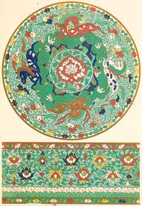 中国纹样集锦-麒麟图案