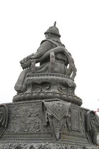 阿拉塔汗蒙古大汗雕像